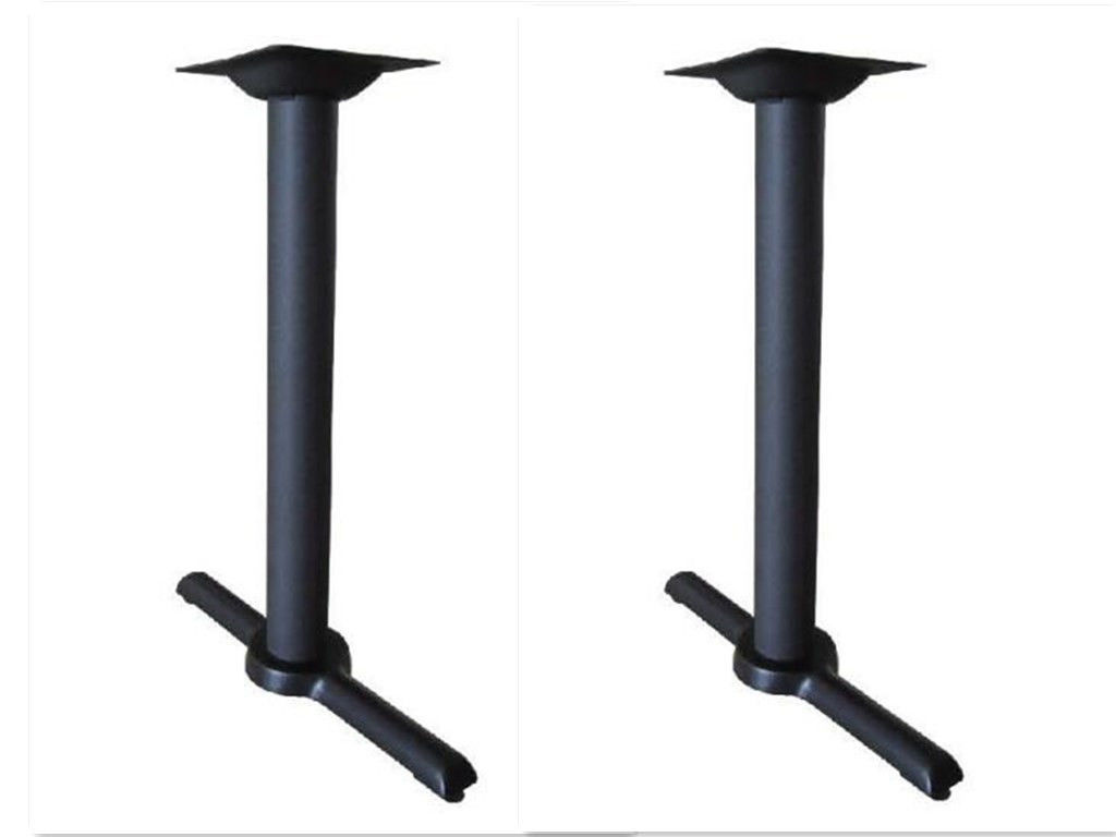 Cast Iron Table Base Restaurant Furniture 6FT Dining Table Legs 2pcs Table Legs